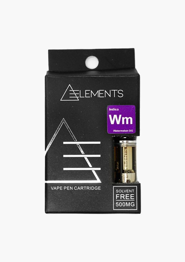 Element Cartridges Indica Watermelon OG