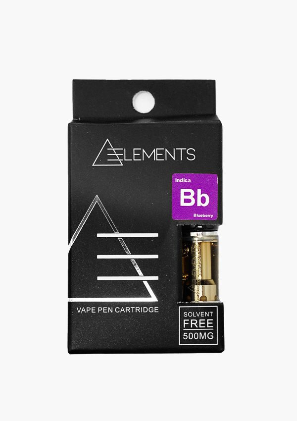 Element Cartridges Indica Blueberry