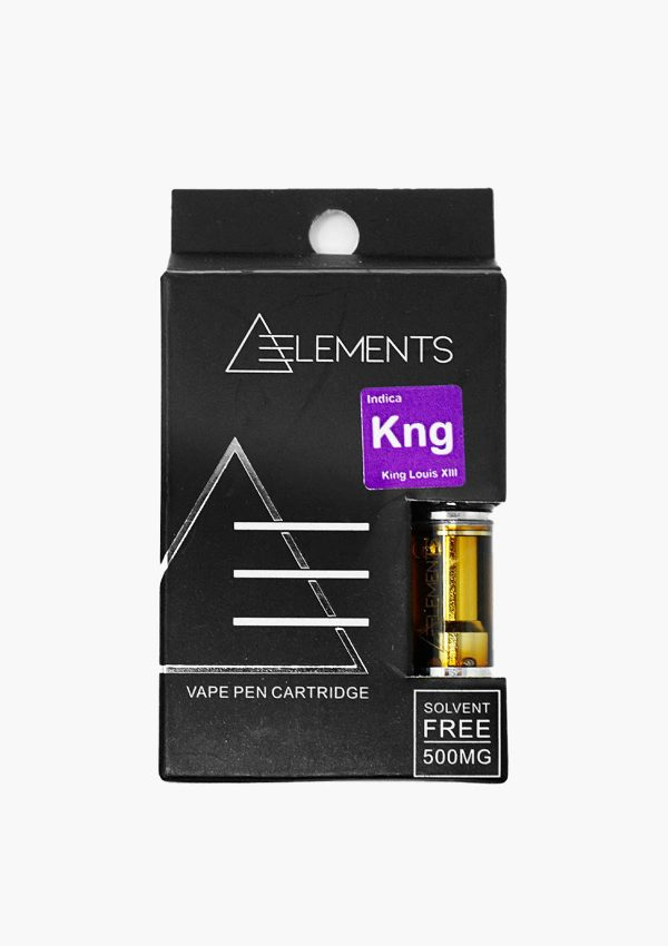 Element Cartridges Indica King Louis XIII