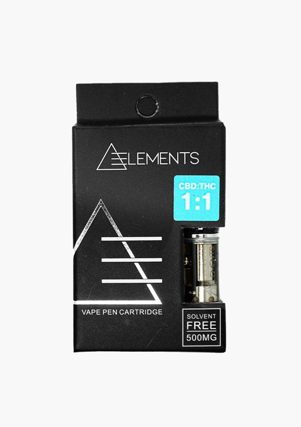 Element Cartridges 1:1 CBD & THC
