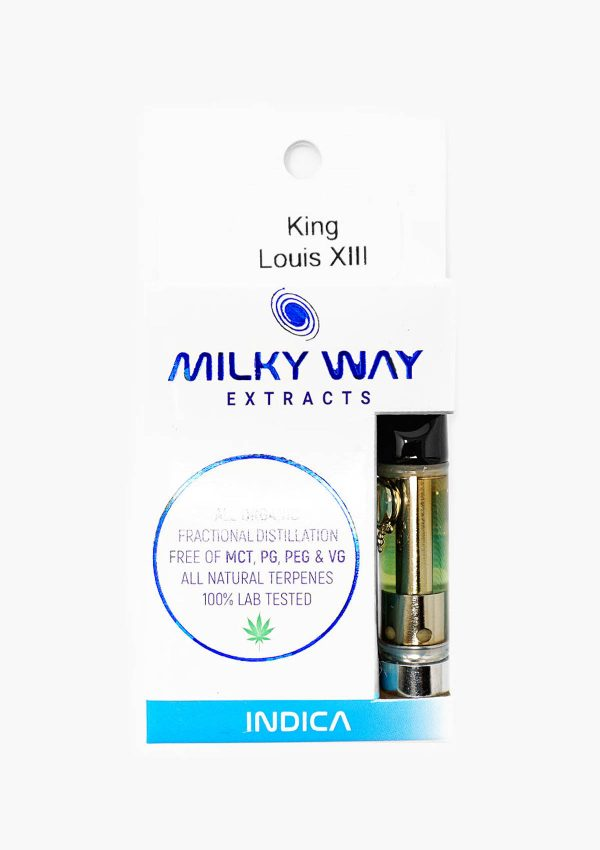 Milky Way Extracts Indica King Louis XIII