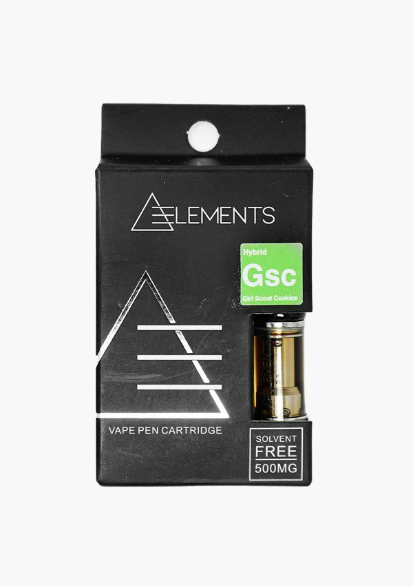 Elements Cartridges Hybrid Girl Scout Cookies
