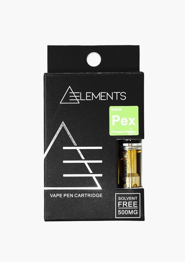 Element Cartridges Hybrid Pineapple Express Front