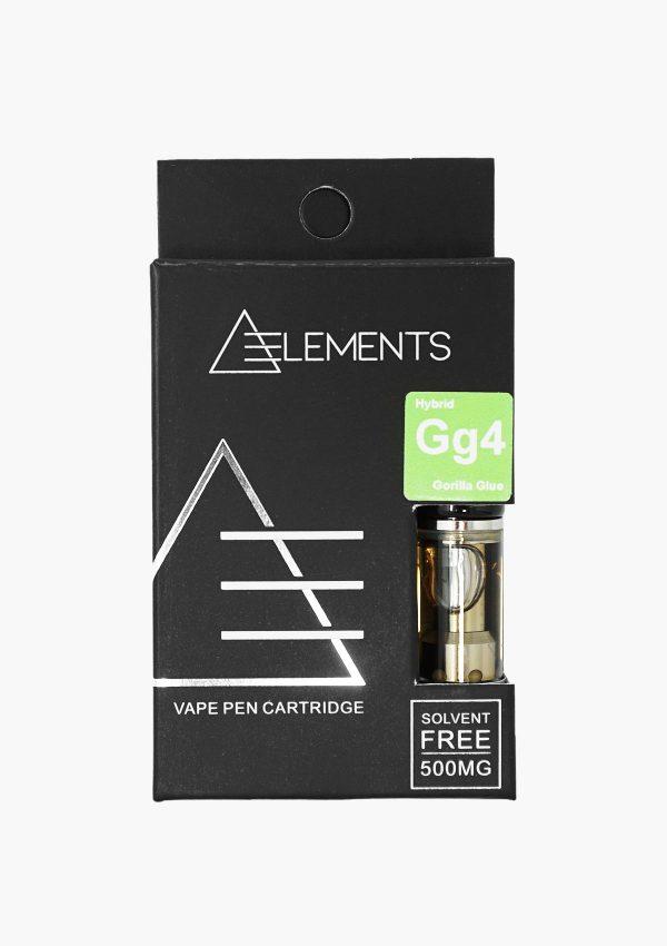 Element Cartridges Hybrid Gorilla Glue Front