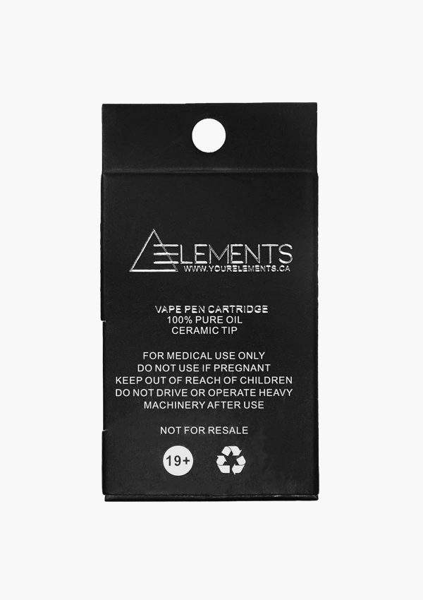 Element Cartridges Hybrid Strawnana Back