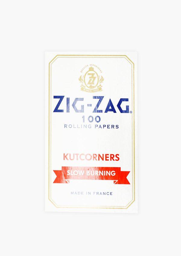 Zig Zag Original Kutcorners Rolling Papers 100 Pack