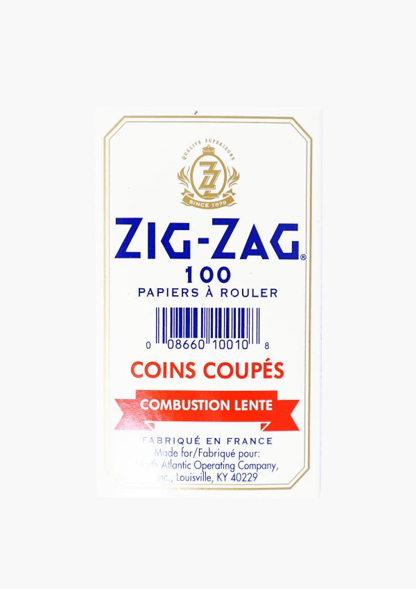 Zig Zag Original Kutcorners Rolling Papers 100 Pack 3