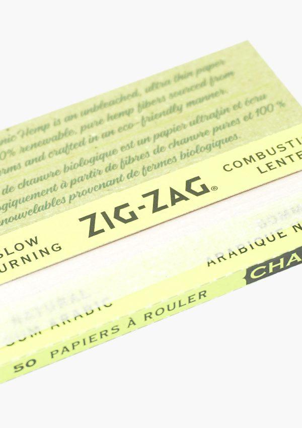 Zig Zag Organic Hemp Rolling Paper 100 Pack 2