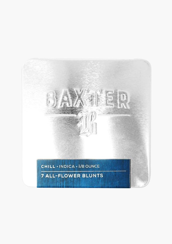 Baxter Pre-Roll Blunts Indica Chill Front