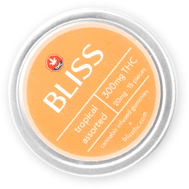 Bliss Assorted Gummies PNG