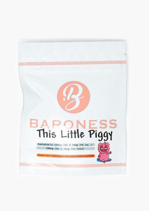 Baroness THC Gummies This Little Piggy
