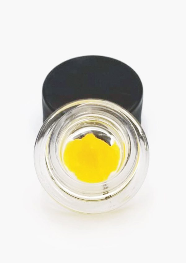 Concentrate in a jar with open lid Pineapple Express