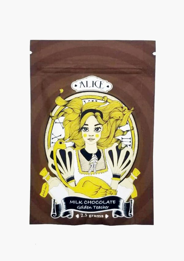 Holi Concentrates Alice Milk Chocolate Golden Teacher Edibles 2.5g Package