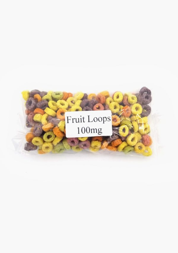 Holi Concentrates Mystic Crone Edibles Infused Fruit Loops 100mg Package