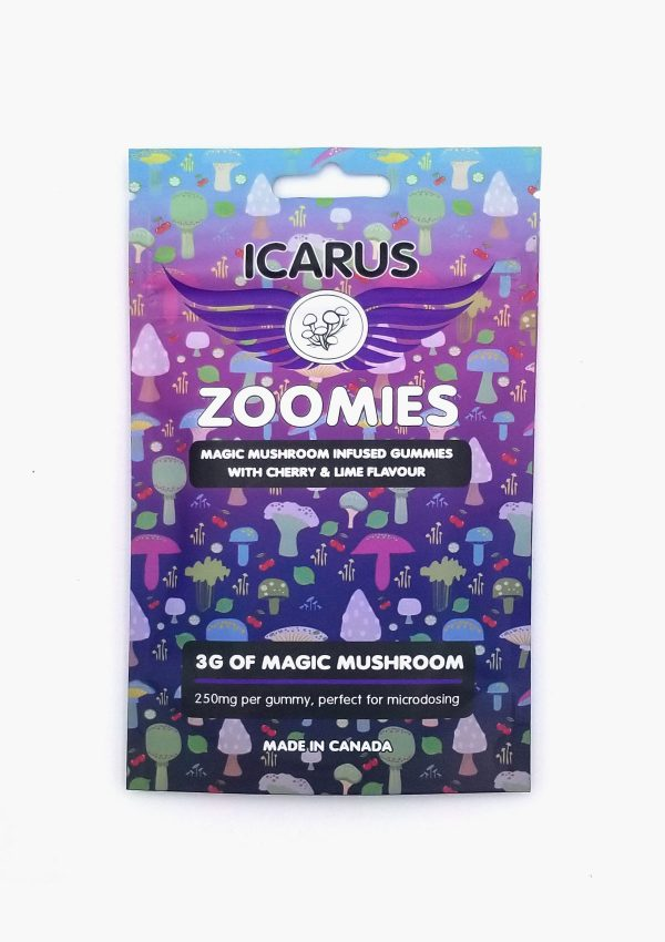 Holi Concentrates Icarus Zoomies Cherry & Lime Flavour 3g of Magic Mushroom 250mg