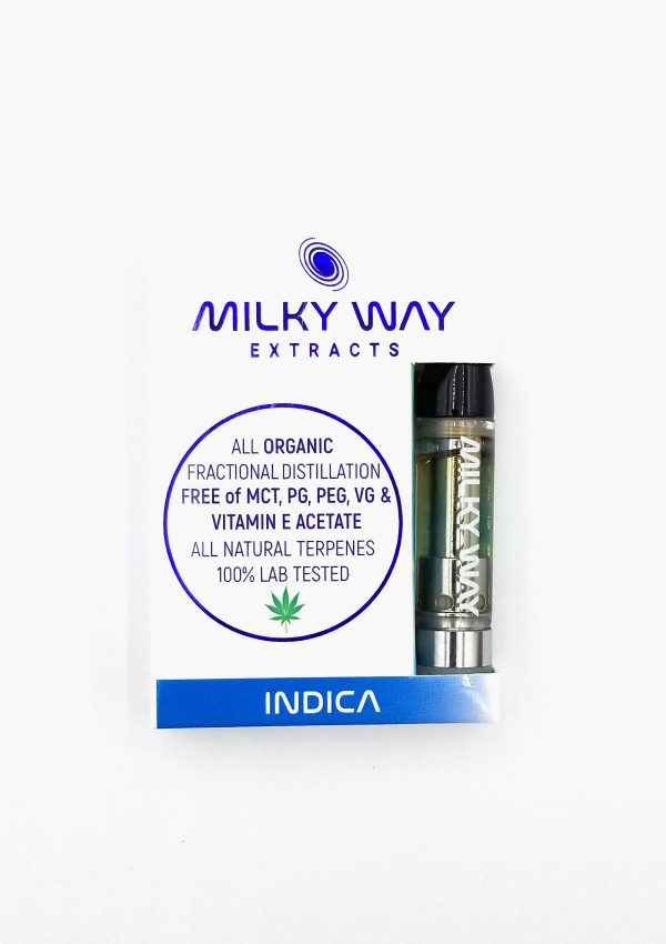 Holi Concentrates Milky Way Extracts Blue Zkittlez Indica Vape Cartridges